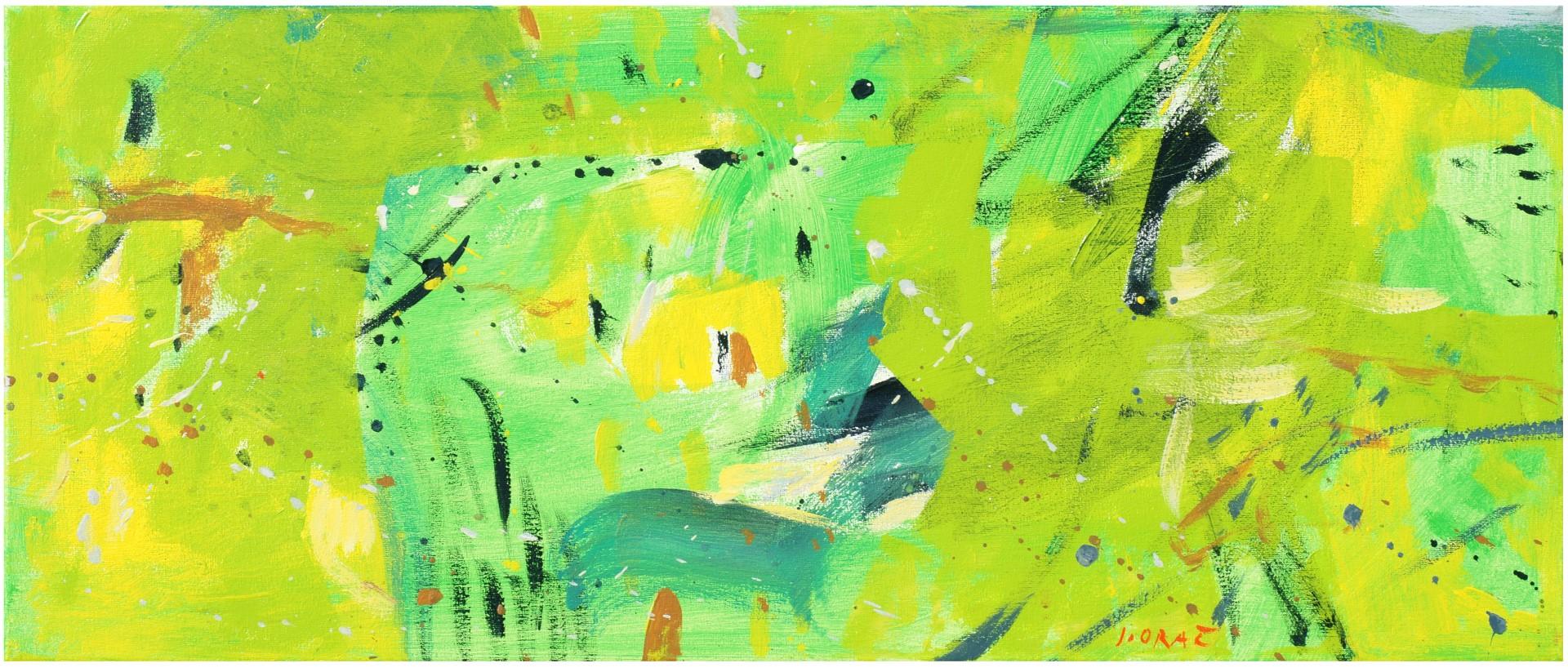 MLADOSTNA OAZA I., 2012, akril pl., 30 x 70 cm