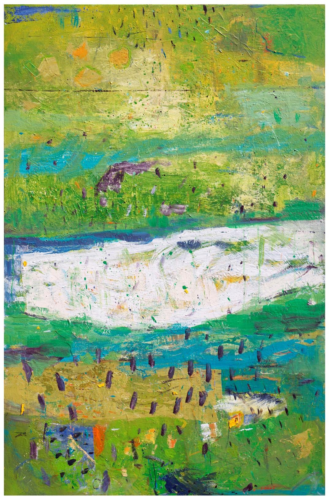 POMLAD, 2011-11, akril pl., 150 x 100 cm