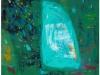 iz cikla CVETOČI VRTOVI VII., 2010, akril pl. 150 x 100 cm