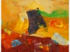 Mediteransko sonce, 2010, akril pl., 100 x 70 cm