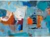 PLES V MODREM, 2011, akril pl., 60 x 120 cm