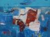iz cikla Mediteranski pejsaž, 2012, akril pl., 70 x 70 cm