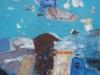 iz cikla Mediteranski pejsaž II., 2012, akril pl., 70 x 70 cm