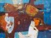 iz cikla Mediteranski pejsaž III., 2012, akril pl., 70 x 70 cm