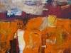 iz cikla Mediteranski pejsaž V., 2012, akril špl., 70 x 70 cm