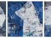 ČUVAJI MESEČINE, 2013, akril pl., (3) 30 x 30 cm