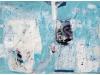 ATELJE - OTOK MILINE, 2012, akril, kolaž pl., 55 x 90 cm