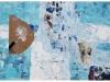 OTOK HARMONIJE II., 2012, akril, kolaž pl., 40 x 60 cm