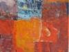 Žarenje II., akril platno, 120x60cm, 2007
