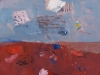 iz cikla Zemlja pleše, 2009, akril pl., 70 x 50 cm