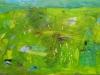 JUTRO V ZELENEM, 2011, akril pl., 70 x 100 cm