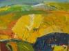 sončna krajina II. , akril, 40 x 50 cm